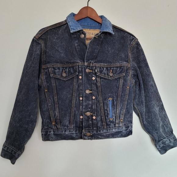 Vintage Levi's Denim Jean Jacket sz M